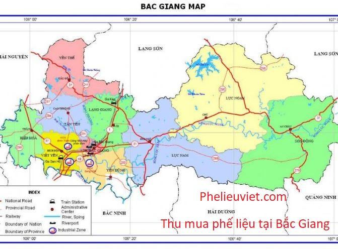 Thu mua phế liệu tại Bắc Giang
