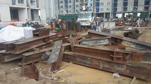 thu mua sắt vụn công trình tại Bắc Giang