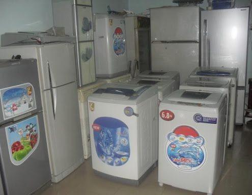 thu mua tủ lạnh máy giặt cũ