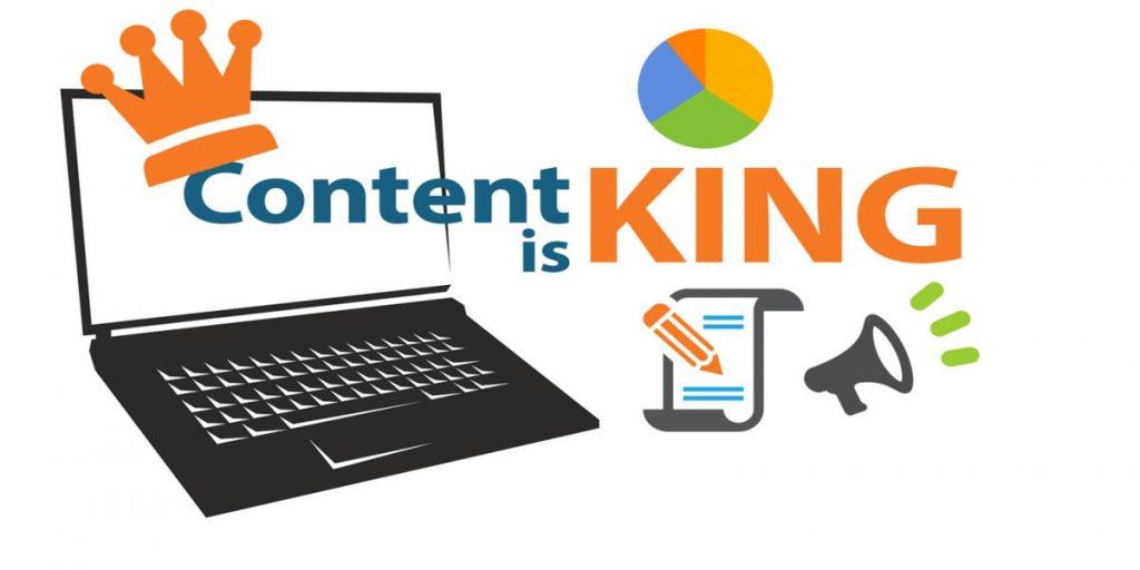 Tầm quan trọng của content với web