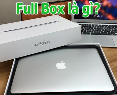 Hàng full box là gì?