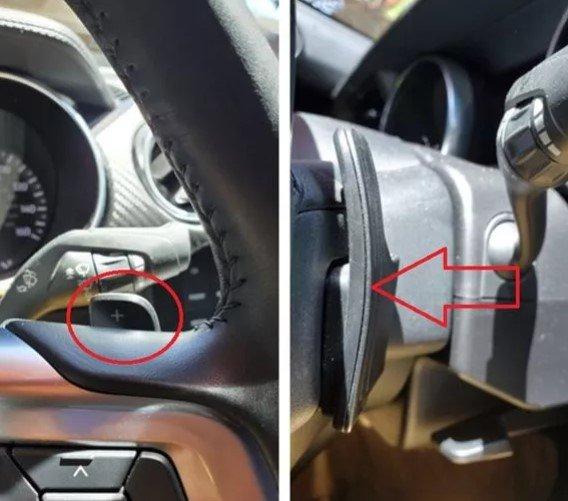 Cách sử dụng lẫy chuyển số trên xe
