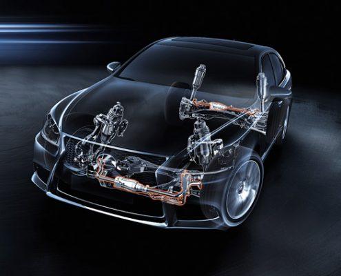 Hệ thống treo trên xe ô tô